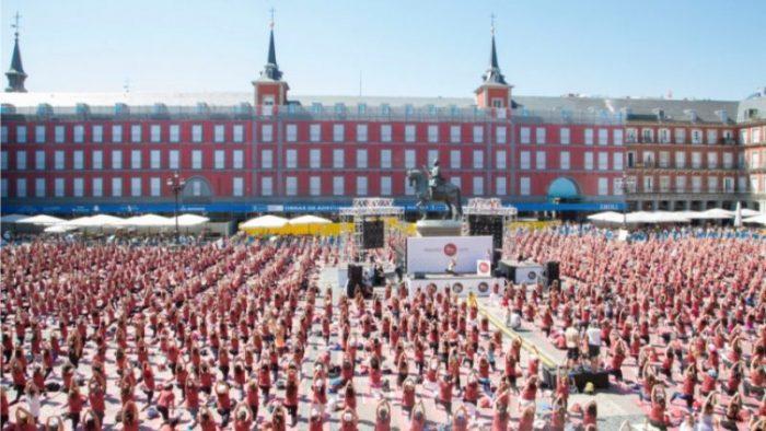Free Yoga by Oysho plaza mayor