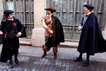 Viaja al siglo de Oro con la ruta teatralizada gratuita 'Letras y espadas'