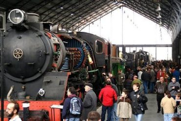 Las jornadas de puertas abiertas del Museo del Ferrocarril  ofrecen todo tipo de actividades este sábado
