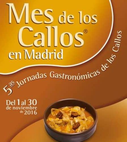 jornadas gastronómicas callos madrileños