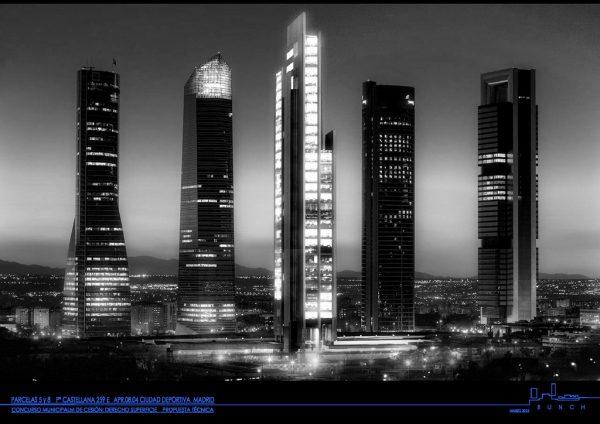 Caleido, cuatro torres de madrid