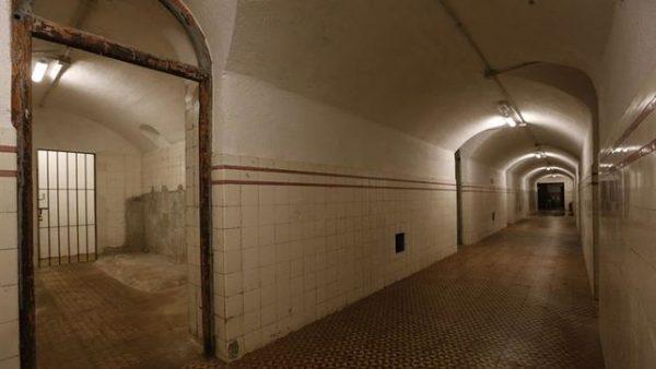 túnel bunker del Capricho