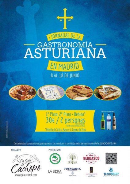 Jornadas de la Gastronomía Asturiana en Madrid