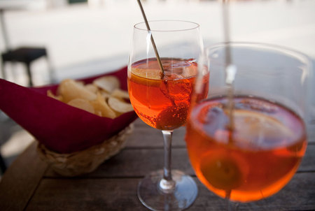 Spritz y aperitivo en Passione Italia