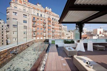 Fiestas ibicencas en impresionantes terrazas de Madrid durante julio