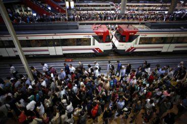 Huelga ferroviaria de Renfe el lunes 15 de julio en Madrid