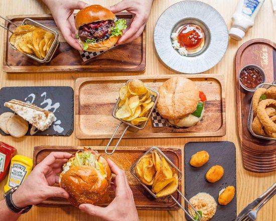 Tate's hamburguesas
