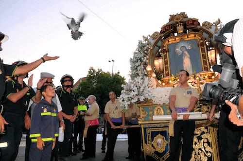 Fiestas de La Virgen de La Paloma