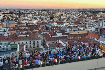 Fiestas de verano en las azoteas más exclusivas de Madrid