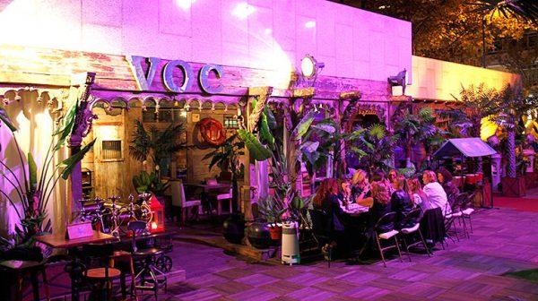 Terraza del Restaurante VOC 1602