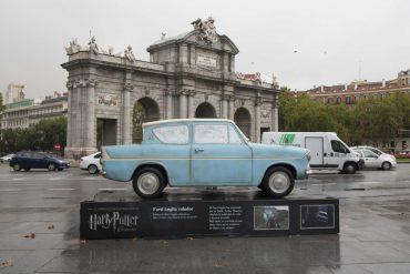 Harry Potter se exhibe en los puntos más emblemáticos de Madrid