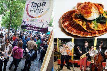 Tapapiés llenará Lavapiés de tapas y música en vivo