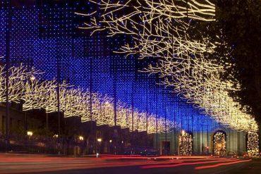 Madrid se engalana con las luces de Navidad