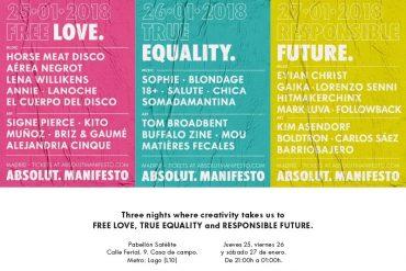 Absolut Manifesto: Tres Fiestas que Apuestan por la Libertad en el Amor, la Igualdad y el Futuro