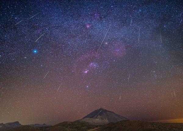 Llegan las dracónidas, la lluvia de estrellas más espectacular de otoño