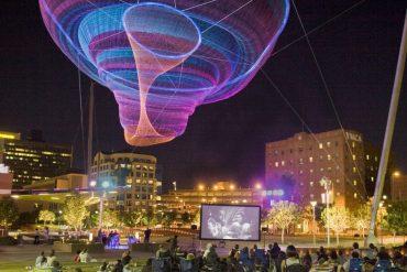 Una escultura flotante invadirá el cielo de Madrid en febrero