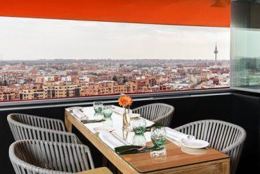 The Observatory, disfrute gastronómico en el cielo de Madrid