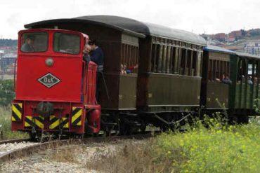 Disfruta del tren de Arganda en primavera con puertas abiertas este sábado