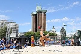 playa colon madrid