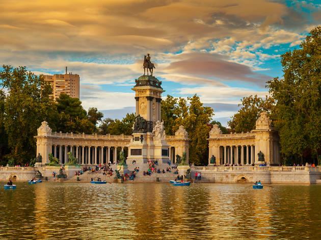 Visitas guiadas gratuitas al parque del Retiro y al paseo del Prado