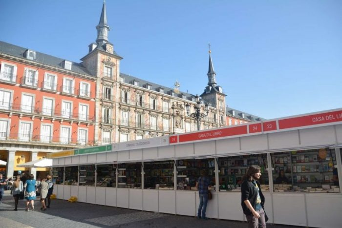 Feria del Libro Plaza Mayor