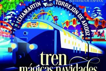 El tren 'Mágicas Navidades', la magia de la Navidad de Madrid a Torrejón