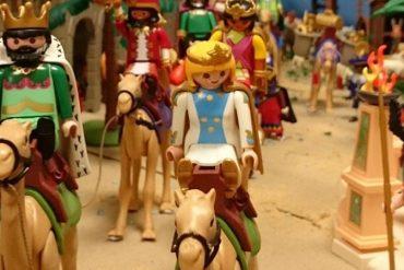 Exposición de marionetas y Belén de playmobil gratis en el Fernán Gómez