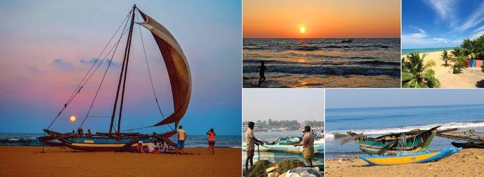 Viajes en velero, paseos en bote, playas asombrosas, atardeceres deslumbrantes, solo un poco de lo que puedes encontrar en Sri Lanka.