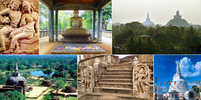 Templos milenarios espirituales de Sri Lanka.