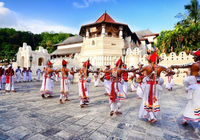 Cultura enormemente rica de Sri Lanka.