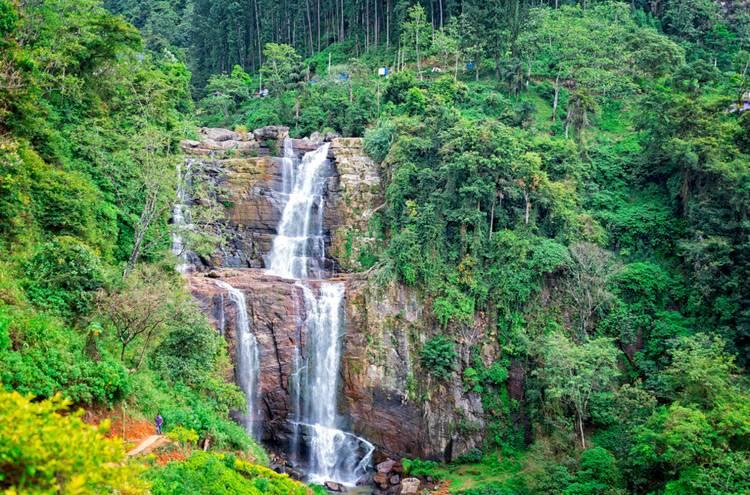 Cascadas alucinantes en Sri Lanka.