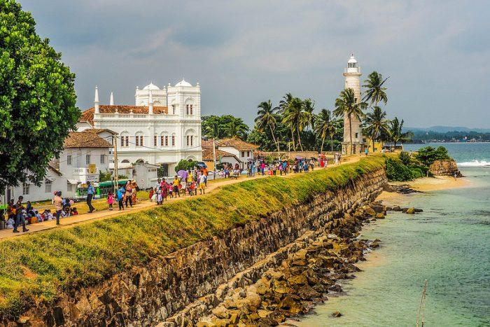 Costas de ensueño en Sri Lanka.