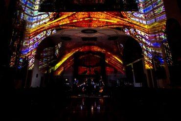Concierto de órgano, voz y luces en el cementerio de la Almudena