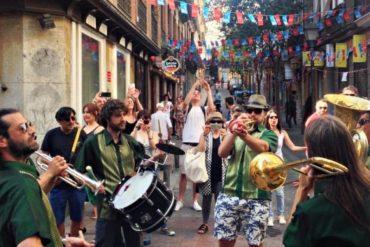 Este finde las Fiestas de la calle Pez en el barrio de Malasaña