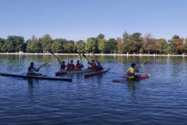 Talleres gratuitos de remo y piragüismo en el estanque de El Retiro