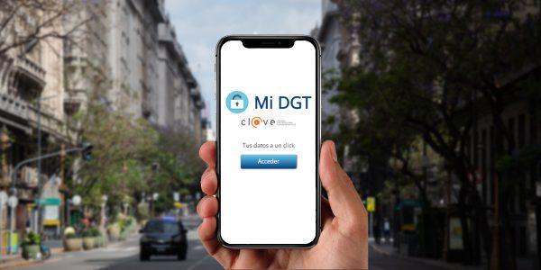 Foto de la app miDGT