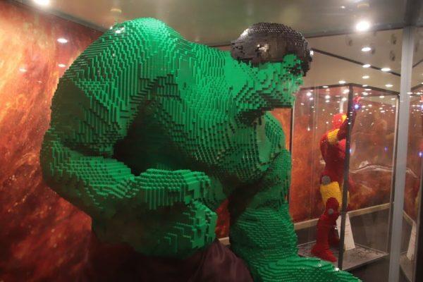 Llega a Madrid la exposición de maquetas Lego más grande de Europa