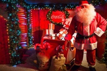 Visita gratis la Casa de Papá Noel en plena Puertal del Sol