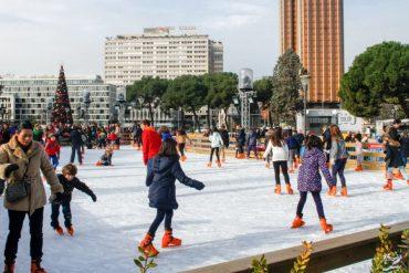 Abre la pista de hielo de Colón, solidaria y domingos gratuitos