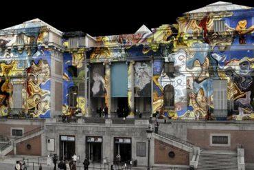 El Prado cierra su bicentenario con puertas abiertas y video mapping