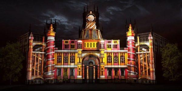 La fachada del palacio de Cibeles lucirá con un videomapping en Navidad