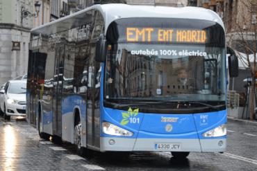 El 18 de febrero arrancan los autobuses gratuitos en Madrid