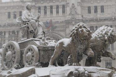 Este lunes puede nevar en Madrid después de dos años