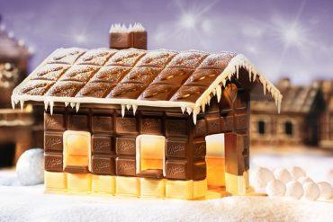 Se instala en Madrid una granja de chocolate a tamaño real