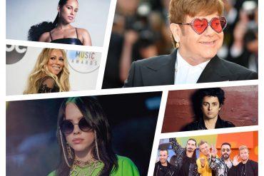Concierto con Elton John, Alicia Keys, Backstreet Boys y Mariah Carey