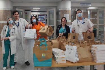 Food 4 Heroes, los hosteleros donan alimentos a los hospitales