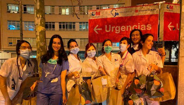 Food 4 Heroes, hosteleros donan alimentos a hospitales