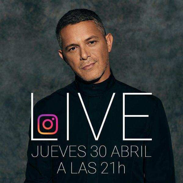 Alejandro Sanz dará gratis un concierto a través de las redes