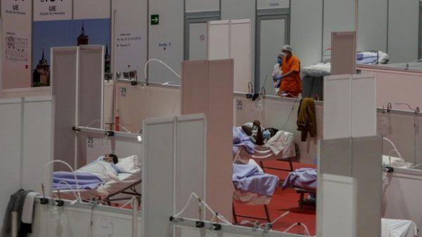 Concierto de Jorge Drexler y Amaral en el hospital de IFEMA