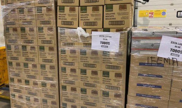 Los supermercados donan miles de toneladas de alimentos